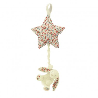 Jellycat Etoile musicale Lapin Blossom Bashful - Crème-listing