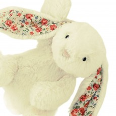 Jellycat Bashful Blossom Cream Bunny Star Musical Pull-product