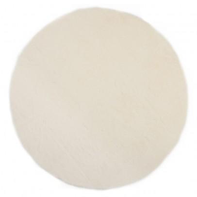 Pilepoil Runder Teppich - weiß-listing