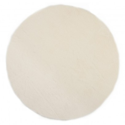 Pilepoil Tapis rond - Blanc-listing