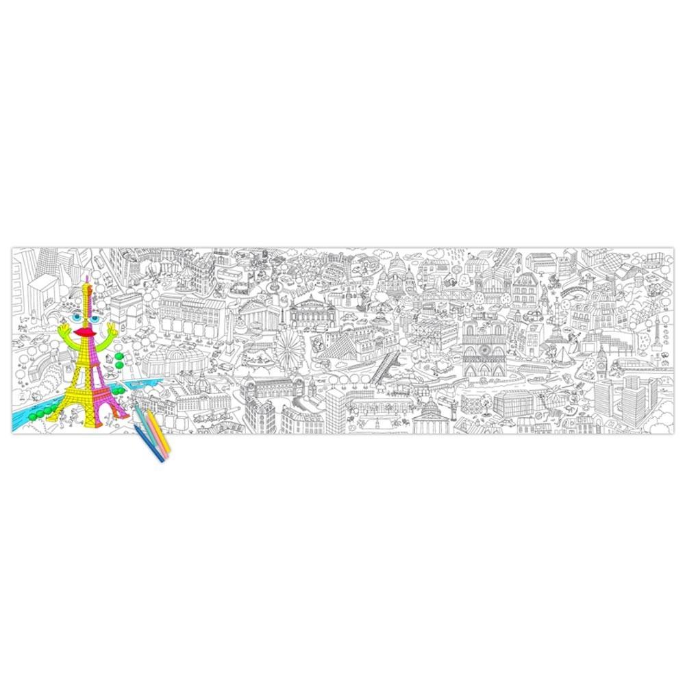 Poster gigante Paris para colorear-product