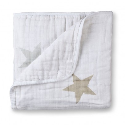 aden + anais  Blanket - Stars and Grey-listing