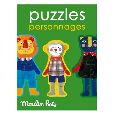 Moulin Roty Characters puzzle-product