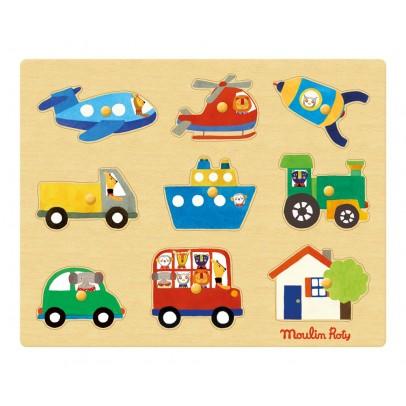 Moulin Roty Puzzle de los transportes-listing