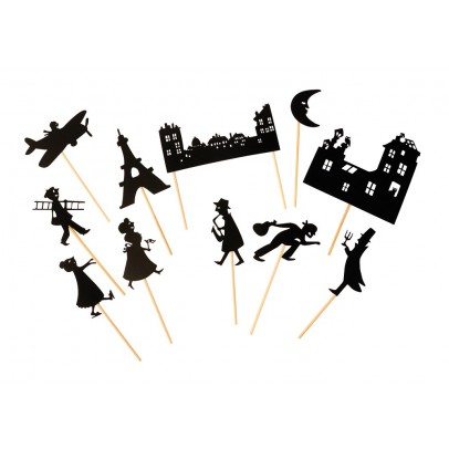 Moulin Roty Paris rooftops shadow puppets-product