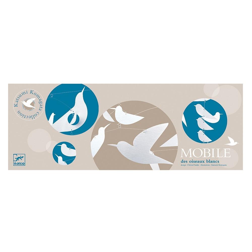 Mobile Oiseaux blancs Katsumi Komagata-product
