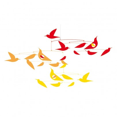 Djeco Mobile, Vögel in Harmonie, Katsumi Komagata-listing