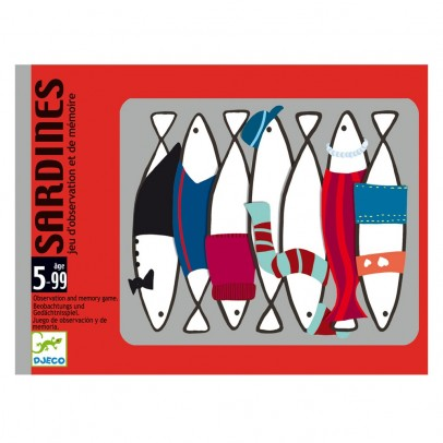 Djeco Memory game Sardines-product