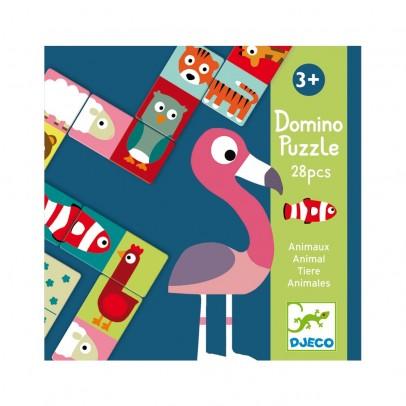 Djeco Puzzle Domino - Animales-product