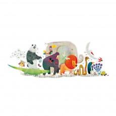 Djeco Puzzle géant - La parade des animaux-product