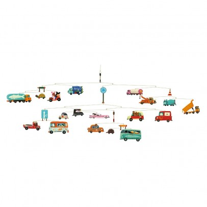 Djeco Mobile Trafic-listing