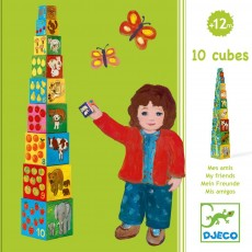 Djeco Cube Mes Amis-product