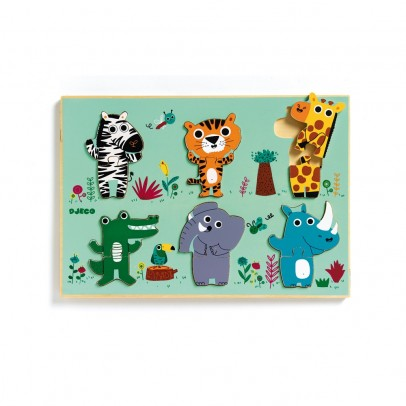 Djeco Coucou - croco puzzle-product