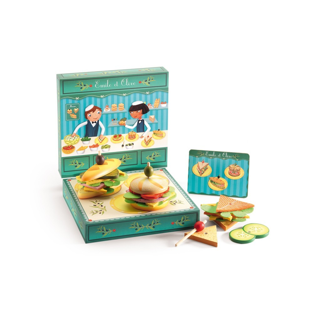 Emile & Olive Sandwich Game-product