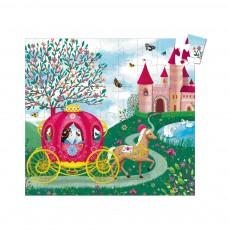 Djeco Puzzle 'El carro de Elise'-product