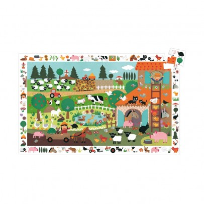 Djeco Observation puzzle The Farm-product