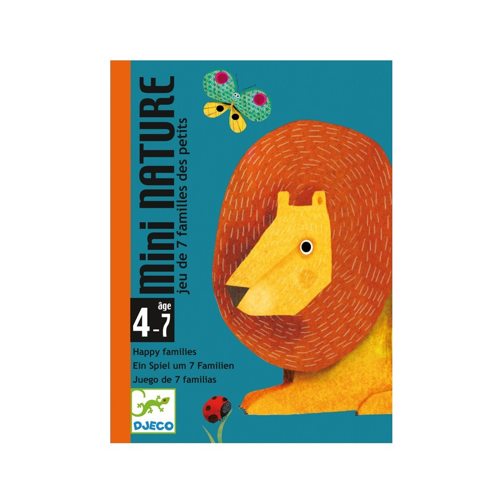 Juego de cartas Mini natura-product