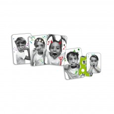 Djeco Playing Cards Grimaces-product