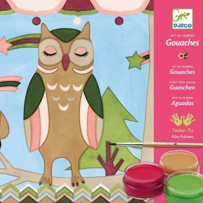 Djeco Les animaux d'Aiko - Gouaches-listing