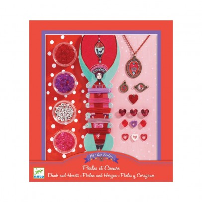 Djeco Pearls and hearts-product