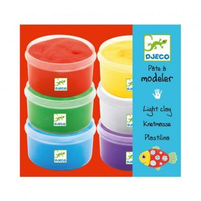 Djeco 6 Pots de pâtes à modeler-listing
