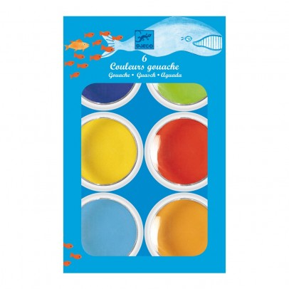 Djeco 6 geant color cakes-product