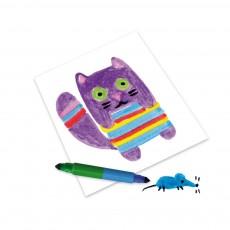 Djeco 8 rotuladores dobles - 16 colores-listing