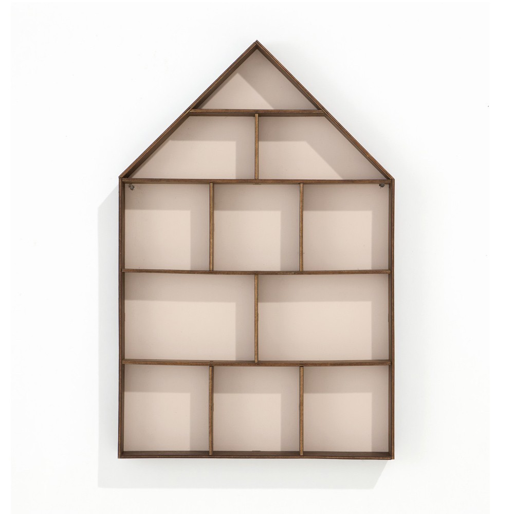 Ferm Living Casa de colección - Rosa pálido-product