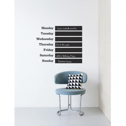 "Ferm Living Sticker ""this week""-listing"