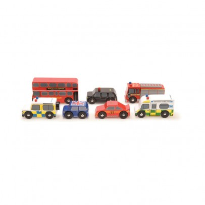 Le Toy Van Set Holzautos London-listing