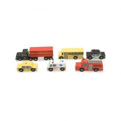 Le Toy Van Set Holzautos New York-listing