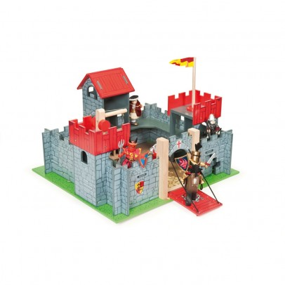 Le Toy Van Schloss Camelot rot-listing