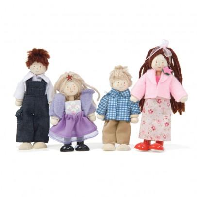Le Toy Van La Famille de 4 Poupées-listing