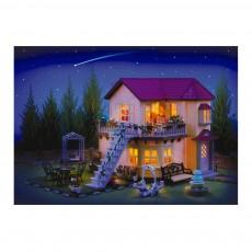 Sylvanian Grande maison Tradition éclairée-listing
