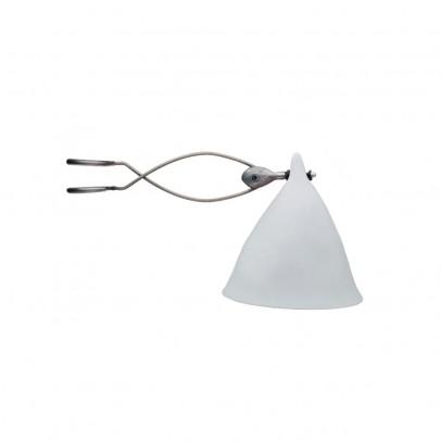 Tse & Tse Lampe à pincer Cornette en porcelaine mate-listing