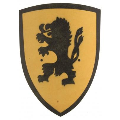 VAH Bouclier Lion jaune-listing