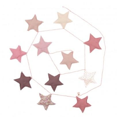 Numero 74 ghirlanda stelle - rosa-listing