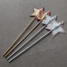 Numero 74 Fairy wand - Old rose and silver-listing