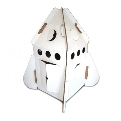Studio Roof Cabaña fusionada en cartón reciclado-listing