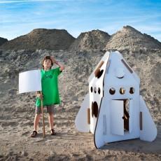 Studio Roof Cabane Fusée en carton recyclé-listing