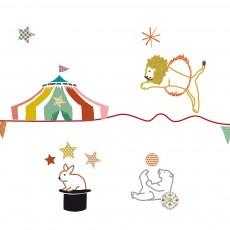 MIMI'lou Sticker frise cirque-listing