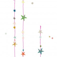 MIMI'lou Sticker fils d'étoiles Rose Fluo-listing