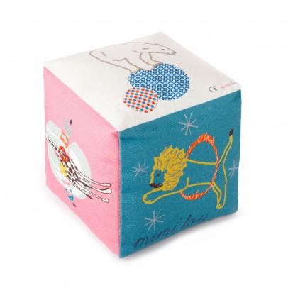 MIMI'lou Cubo de algodón con campana - Circo-listing