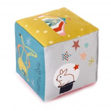 MIMI'lou Cotton cube with bell - circus-listing