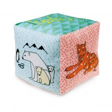 MIMI'lou Zoo cube with bell-listing