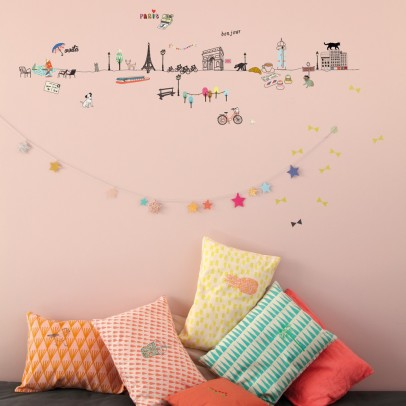 MIMI'lou Wall sticker Paris-listing