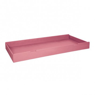 Laurette Round bed with drawers - Bubblegum-listing