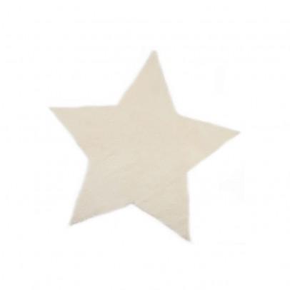 Pilepoil Tapis étoile - Blanc-listing