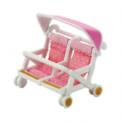 Sylvanian Double pushchair-listing