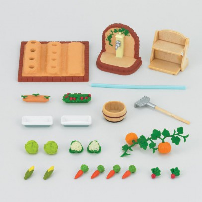 Sylvanian Vegetable garden-listing